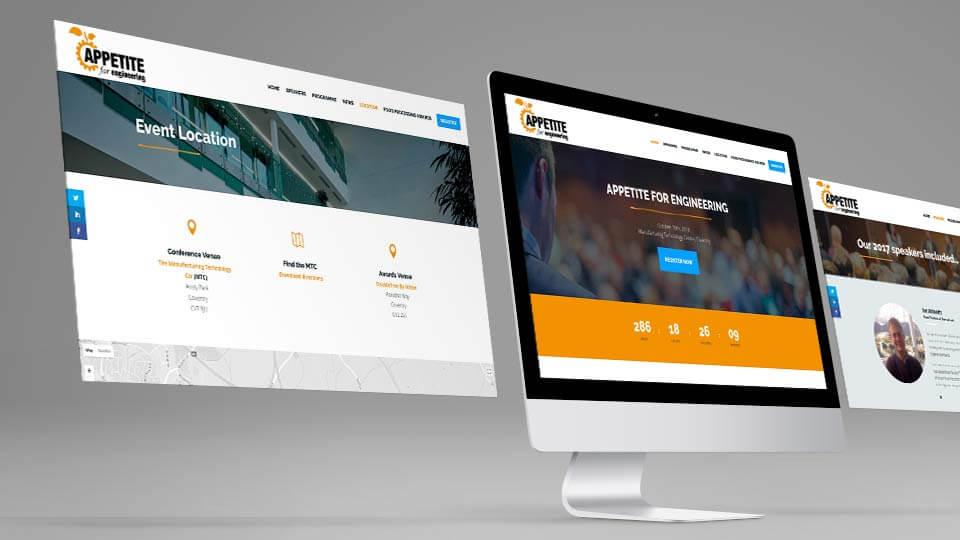 Apetite for engineering website